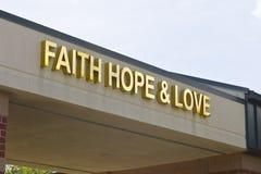 Lafayette, DEDANS - vers en juillet 2016 : Centre de Cancer de foi, d'espoir et d'amour - le centre de Cancer d'unité fournit le  Image stock