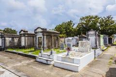 Lafayette-Kirchhof in New Orleans Stockbilder