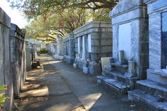 Lafayette-Kirchhof-Zahl 1 New Orleans Stockfoto
