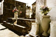 Lafayette kyrkogård i New Orleans arkivbilder