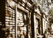 Lafayette kyrkogård New Orleans arkivbild