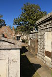 Lafayette kyrkogårdnummer 1 New Orleans Arkivfoto