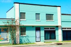 Lafayette, Louisiane stock foto's