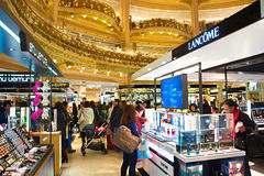 Lafayette luxury mall, Paris Stock Images