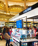 Lafayette luxury mall, Paris Royalty Free Stock Photography