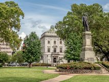 Lafayette Square, New Orleans, LA. The lovely and peaceful Lafayette Square in New Orleans, Louisiana stock image