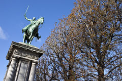 Lafayette Statue in Paris Stock Image