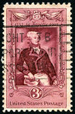 LaFayette US Postage Stamp Stock Photography