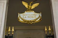 LaFenice emblem royaltyfri foto