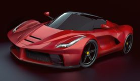 LaFerrari supercar concept restyled Stock Photos