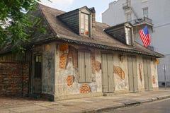 Lafitte-` s Schmied Shop lizenzfreie stockbilder