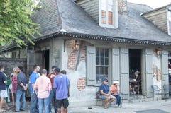 Lafittes hovslagare Shop Royaltyfri Fotografi