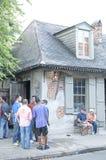 Lafittes hovslagare shoppar stången Arkivfoto
