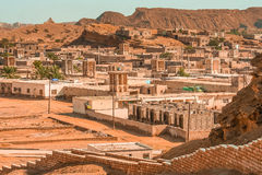 Laft town in Queshm Stock Images