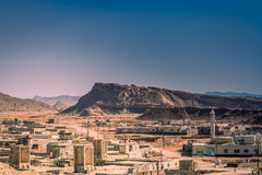 Laft town in Queshm Royalty Free Stock Images