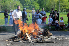Lag B'Omer Celebration in Toronto Stock Image