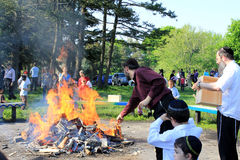 Lag B'Omer Celebration in Toronto Royalty Free Stock Photography