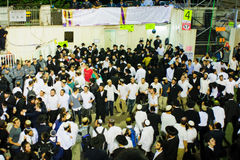 Lag BaOmer on Mount Meron 2015 Royalty Free Stock Photo
