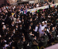 Lag BaOmer on Mount Meron Stock Images