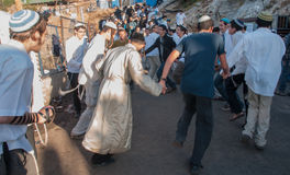 Lag BaOmer on Mount Meron Stock Image