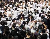 Lag BaOmer on Mount Meron Royalty Free Stock Photo
