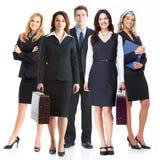 Lag för affärsfolk. arkivfoton