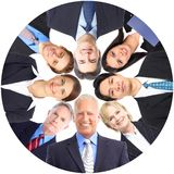 Lag för affärsfolk Fotografering för Bildbyråer