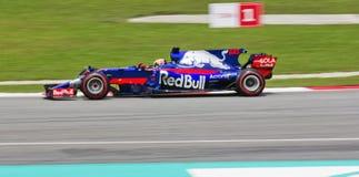 Lag för F1 RedBull Arkivbilder