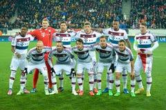 Lag för FC Bayern Arkivbild