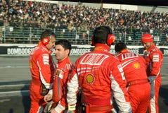Lag för Ferrari formel en Royaltyfri Bild