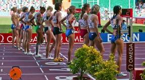 lag för friidrottmästerskapeuropean Fotografering för Bildbyråer
