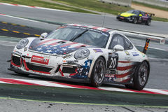 Lag för FRU GT-Racing Porsche 991 Royaltyfria Bilder