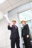 lag för lokal för affärskonstruktionskontor royaltyfri fotografi