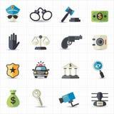 Lag- och rättvisasymboler Fotografering för Bildbyråer