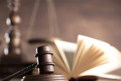 Lag- och rättvisatema Arkivfoto