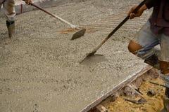 Lag på cementera floor.2 Royaltyfri Bild