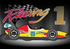 Lag 1 Racing Royaltyfria Bilder