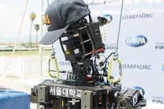 Lag SNU 2 för DARPA robotteknikutmaning Arkivbilder
