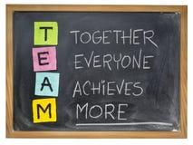 Lag - teamworkbegrepp arkivfoton