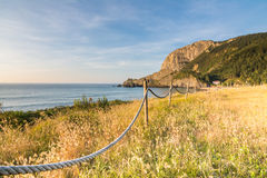 Laga beach at basque country Stock Image
