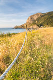 Laga beach at basque country Stock Images