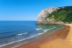 Laga beach. On sunny day Royalty Free Stock Image