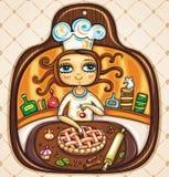 laga mat älskar jag Royaltyfri Foto