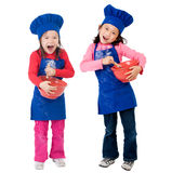 laga mat för barn arkivfoton
