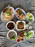 Laga mat för grönsakrestauranger royaltyfri fotografi