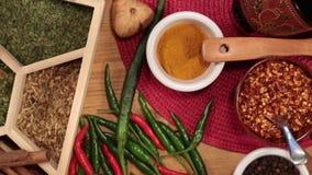 Laga mat kryddor - HD Royaltyfri Fotografi