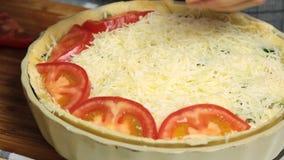Laga mat och utforma pajmatkvittot lager videofilmer