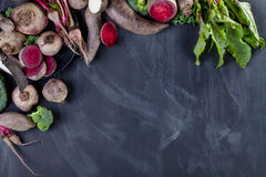 Laga mat organisk mat för matställe Royaltyfri Foto