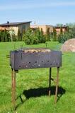 laga mat som är utomhus- royaltyfri foto