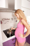 laga mat som är gravid Royaltyfri Bild